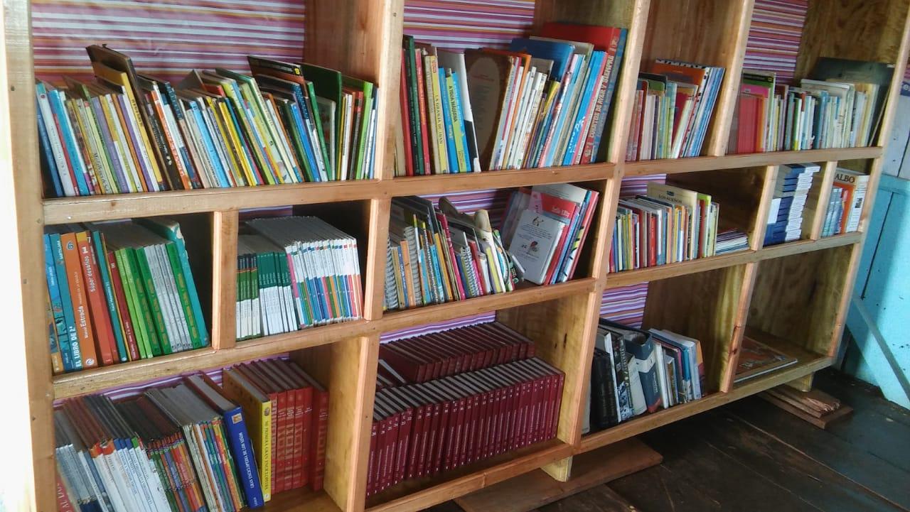 MÁS OPORTUNIDADES: ¡CONOCE LA BIBLIOTECA DE LA ESCUELA RURAL 774!